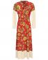 Платье-макси из шелка с узором Weekend Max Mara  –  Общий вид