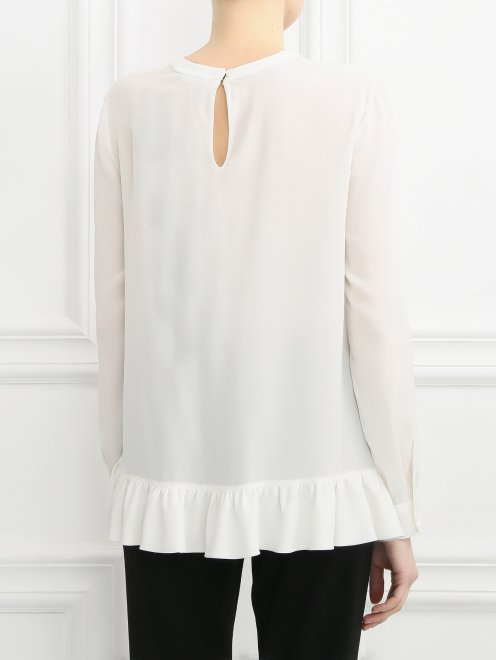 Блуза из шелка - Модель Верх-Низ1