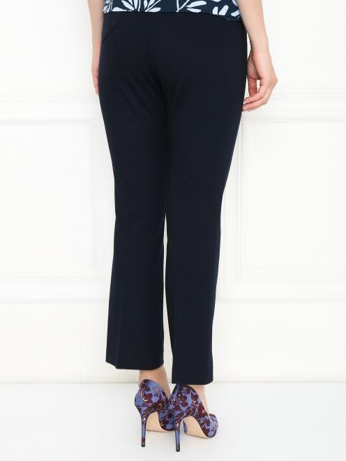 Укороченные брюки из трикотажа - МодельВерхНиз1