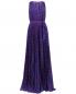 Плиссированное платье-макси с узором Moschino Boutique  –  Общий вид