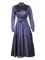 Платье-миди из шелка с поясом Max Mara  –  Общий вид
