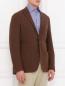 Однобортный пиджак из шерсти Corneliani ID  –  Модель Верх-Низ