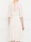 Платье из шелка с вышивкой Collette Dinnigan  –  Модель Верх-Низ1