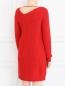 Платье из шерсти MSGM  –  Модель Верх-Низ1