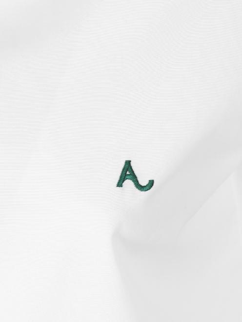 Рубашка из хлопка укороченная - Деталь1
