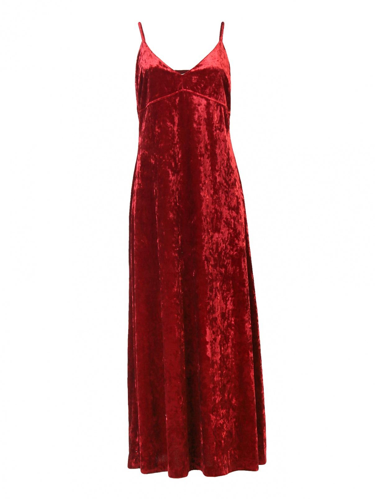 Платье-миди из бархата Michael by Michael Kors  –  Общий вид