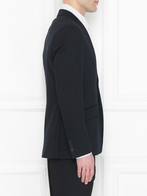 Пиджак из хлопка - МодельВерхНиз2