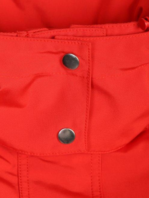 Куртка с капюшоном на молнии - Деталь