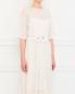 Платье из шелка с вышивкой Collette Dinnigan  –  Модель Верх-Низ