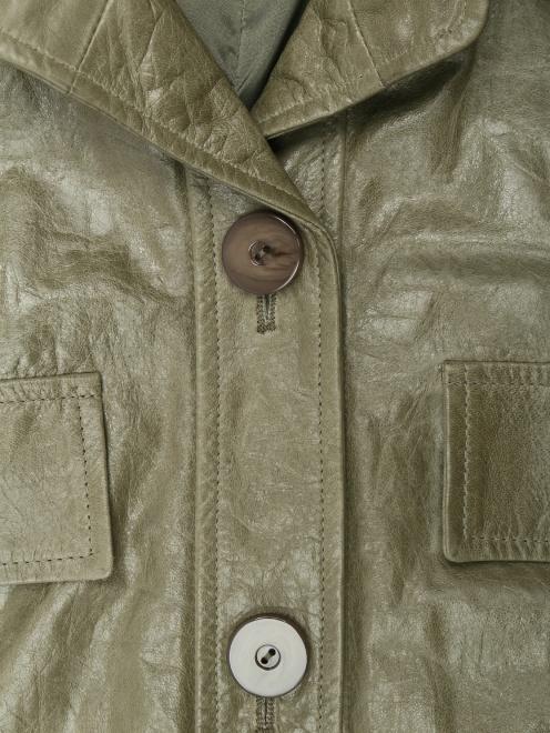 Комбинезон кожаный с тиснением  - Деталь1