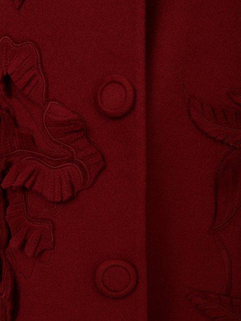 Пальто из шерсти с декором - Деталь1