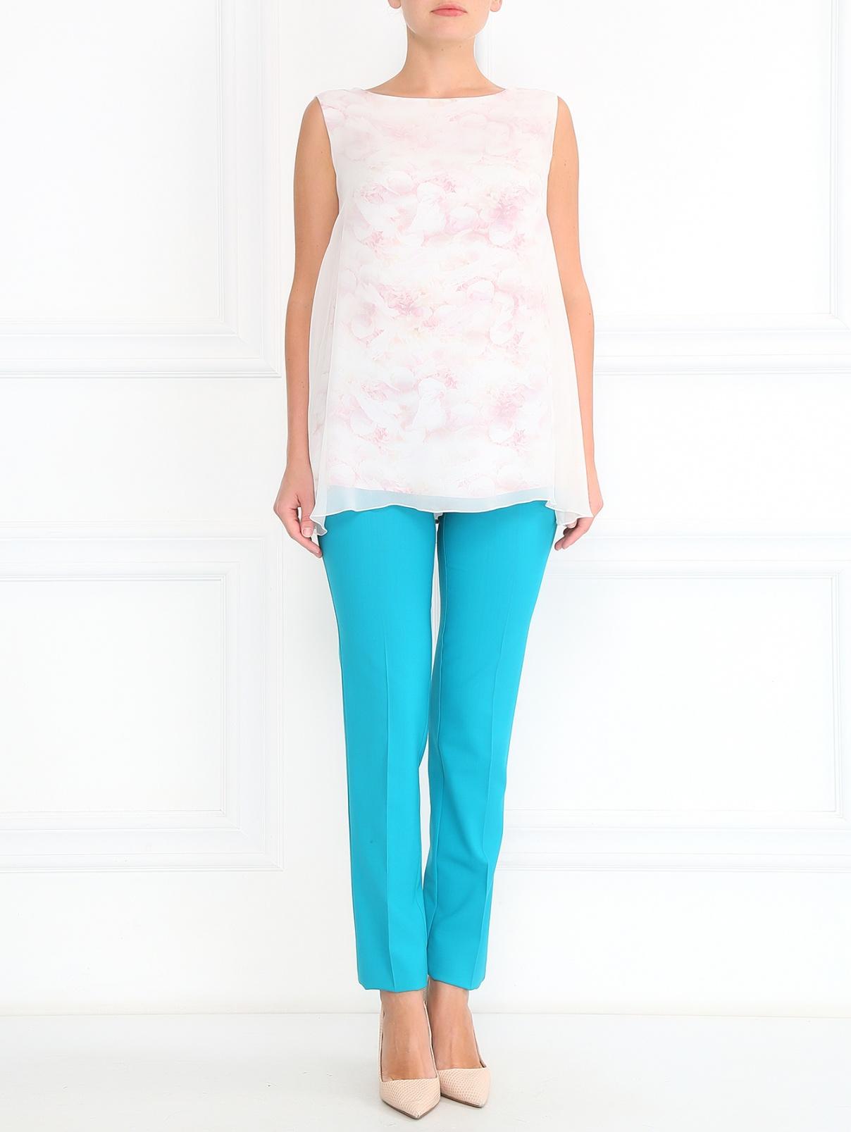 Зауженные брюки со стрелками Etro  –  Модель Общий вид