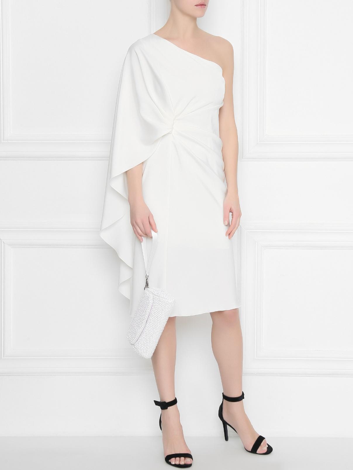 Платье ассиметричное со складкой Alberta Ferretti  –  Общий вид