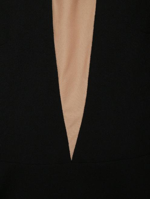 Платье из шерсти под пояс - Деталь