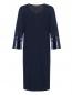 Платье с V-образным вырезом , прямого кроя Marina Rinaldi  –  Общий вид