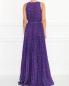 Плиссированное платье-макси с узором Moschino Boutique  –  Модель Верх-Низ1