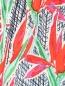 Брюки из шелка свободного кроя на резинке Kenzo  –  Деталь1