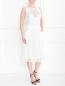 Платье из хлопка с карманами Veronique Branquinho  –  Модель Общий вид