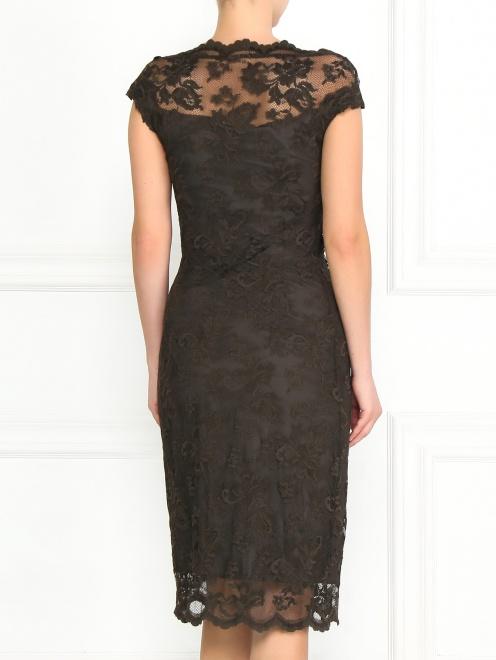 Кружевное платье-футляр - Модель Верх-Низ1