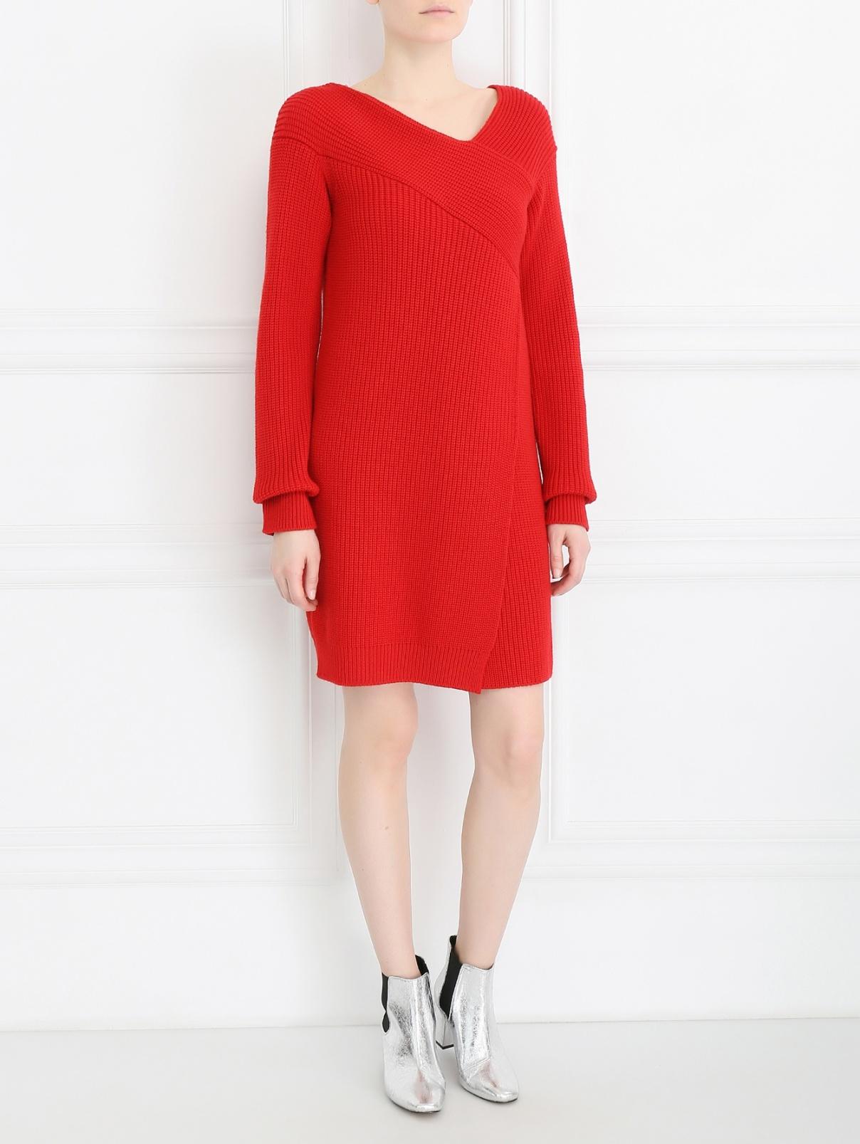 Платье из шерсти MSGM  –  Модель Общий вид