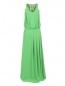 Платье-макси с вставками из кружева N21  –  Общий вид