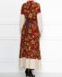 Платье-макси из шелка с узором Weekend Max Mara  –  МодельВерхНиз1