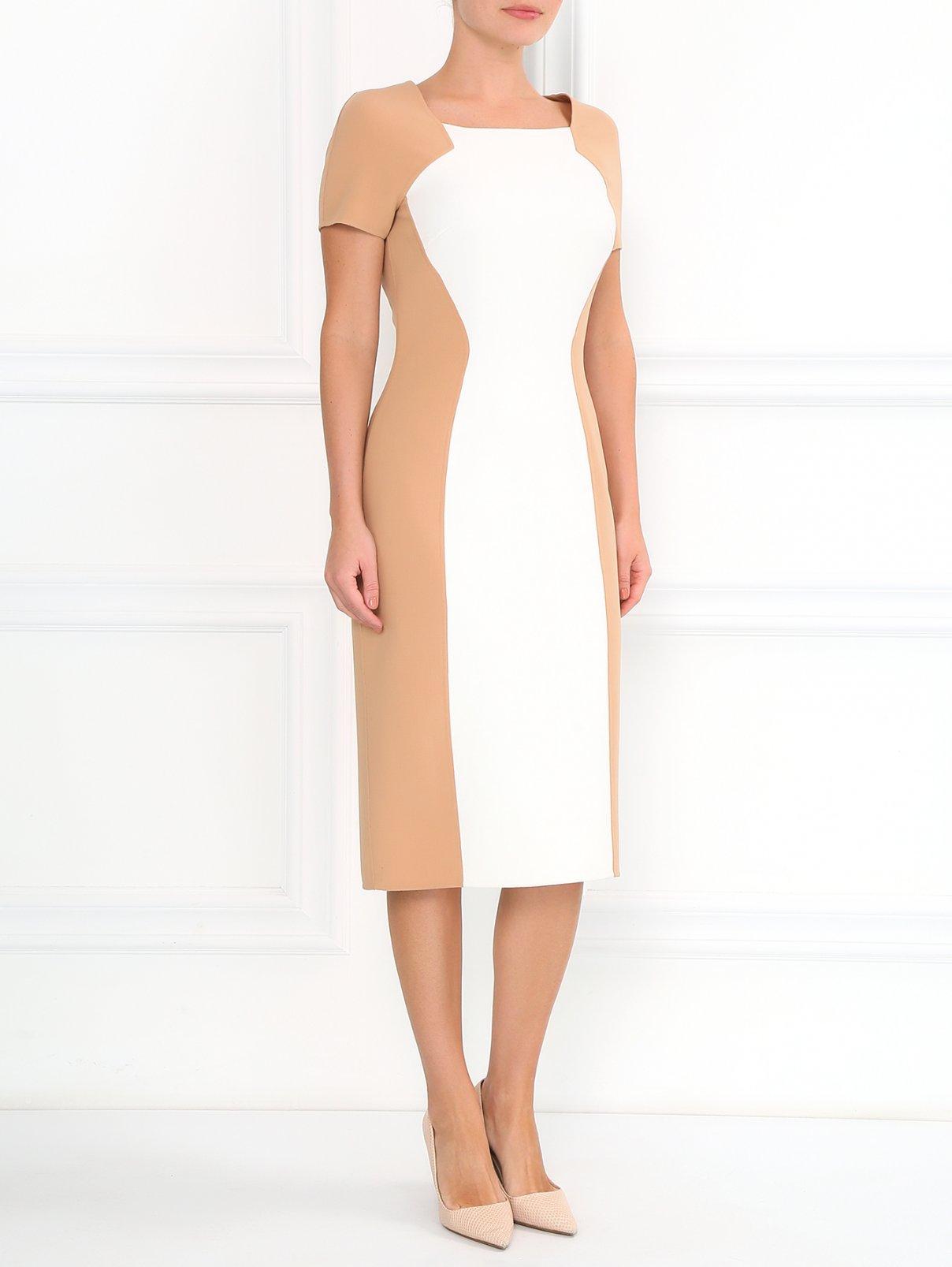 Платье-футляр из шерсти Michael Kors  –  Модель Общий вид