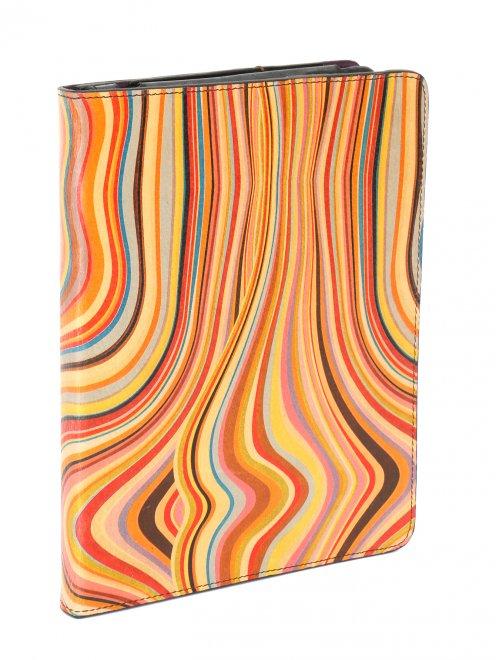 Чехол для iPad из кожи с узором - Обтравка1