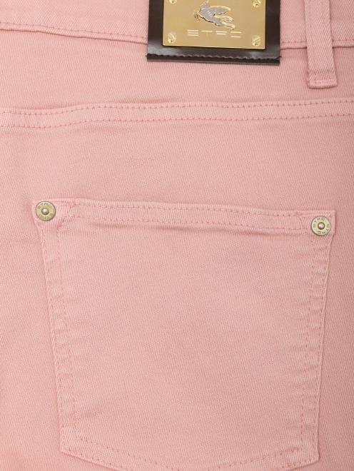 Укороченные джинсы из хлопка - Общий вид