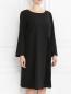 Платье асимметричного кроя с узором Marina Rinaldi  –  Модель Верх-Низ