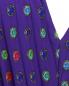 Плиссированное платье-макси с узором Moschino Boutique  –  Деталь
