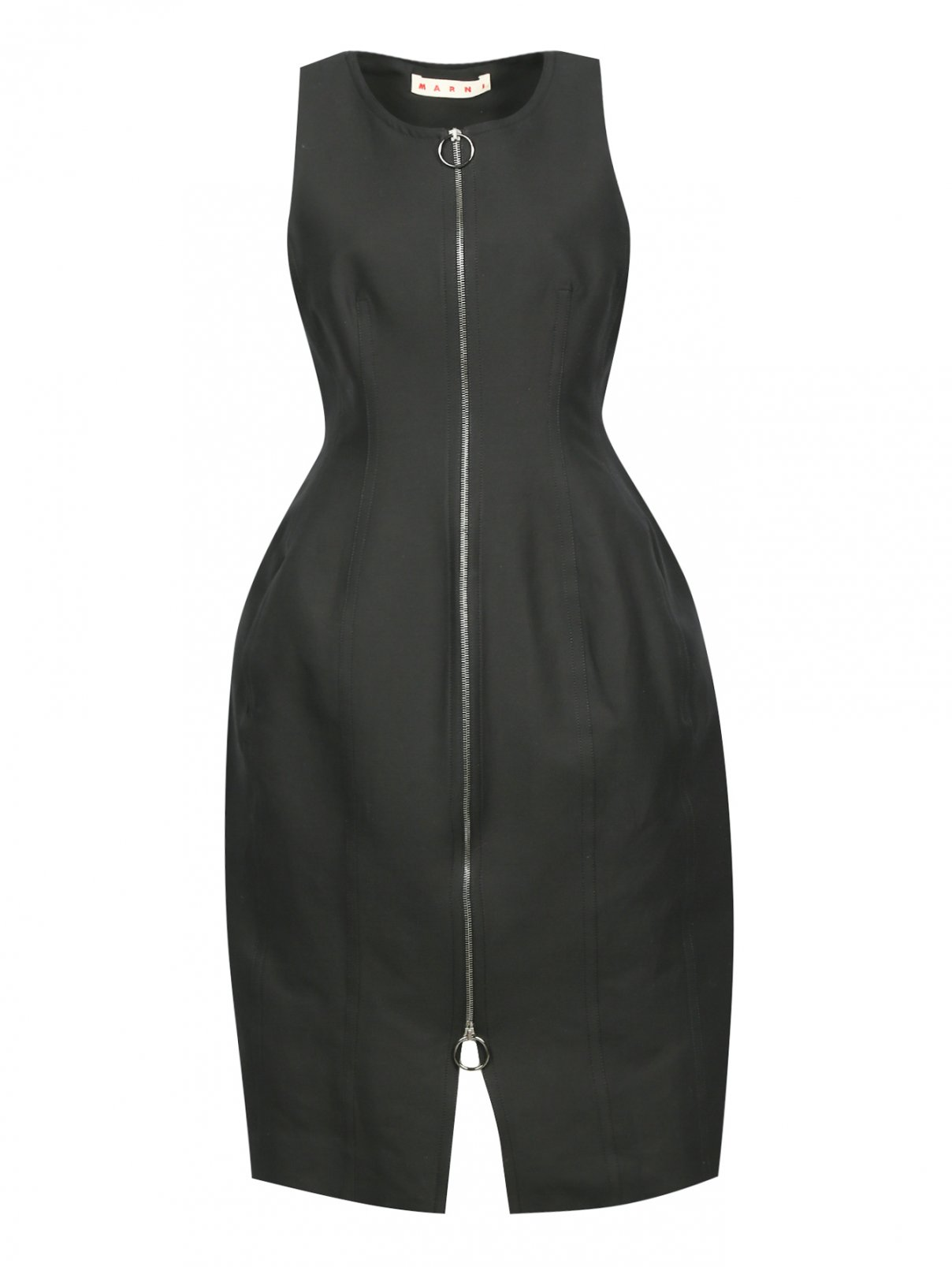 Платье-миди на молнии Marni  –  Общий вид