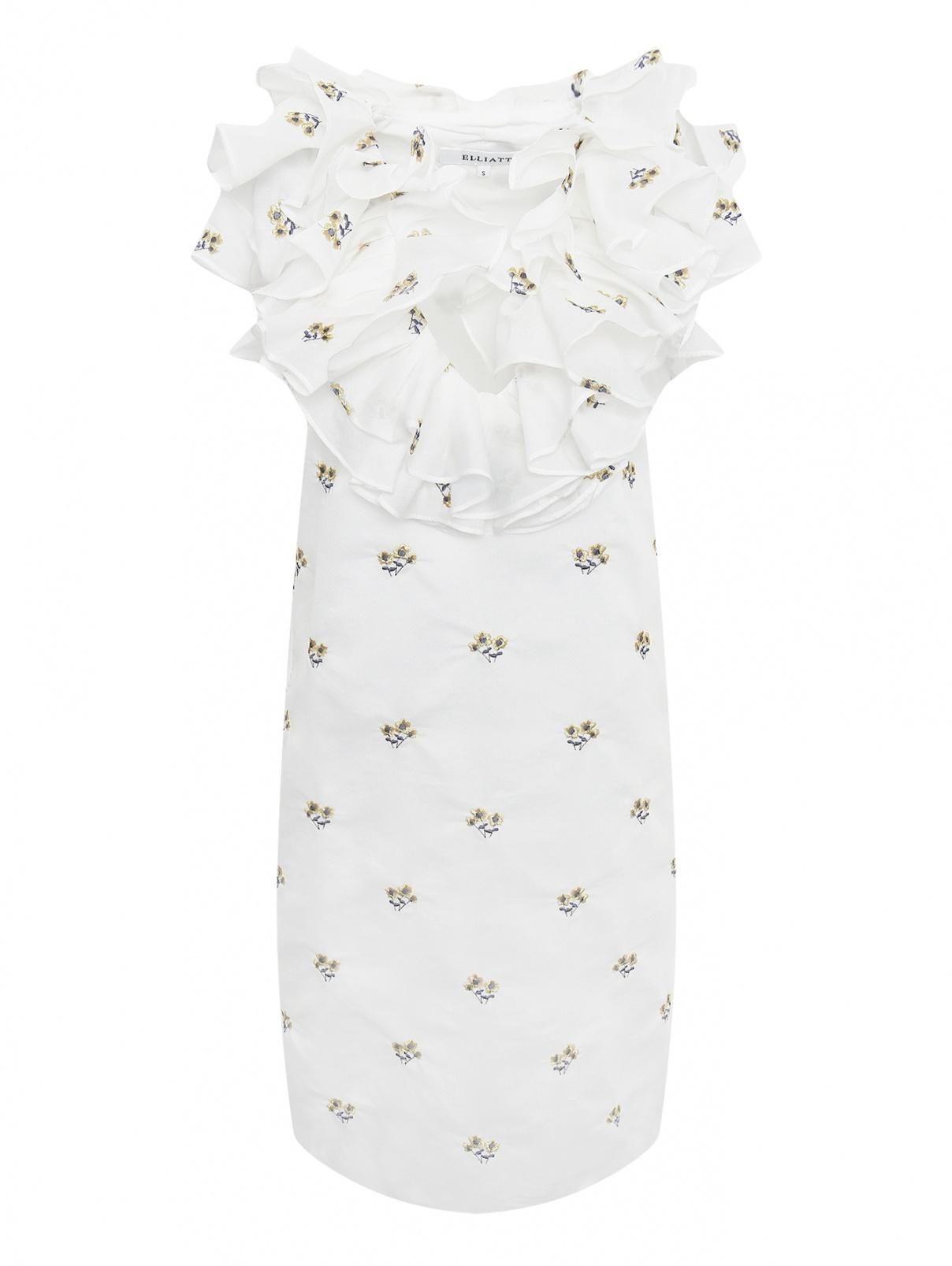 Платье-мини с цветочным узором Elliatt  –  Общий вид