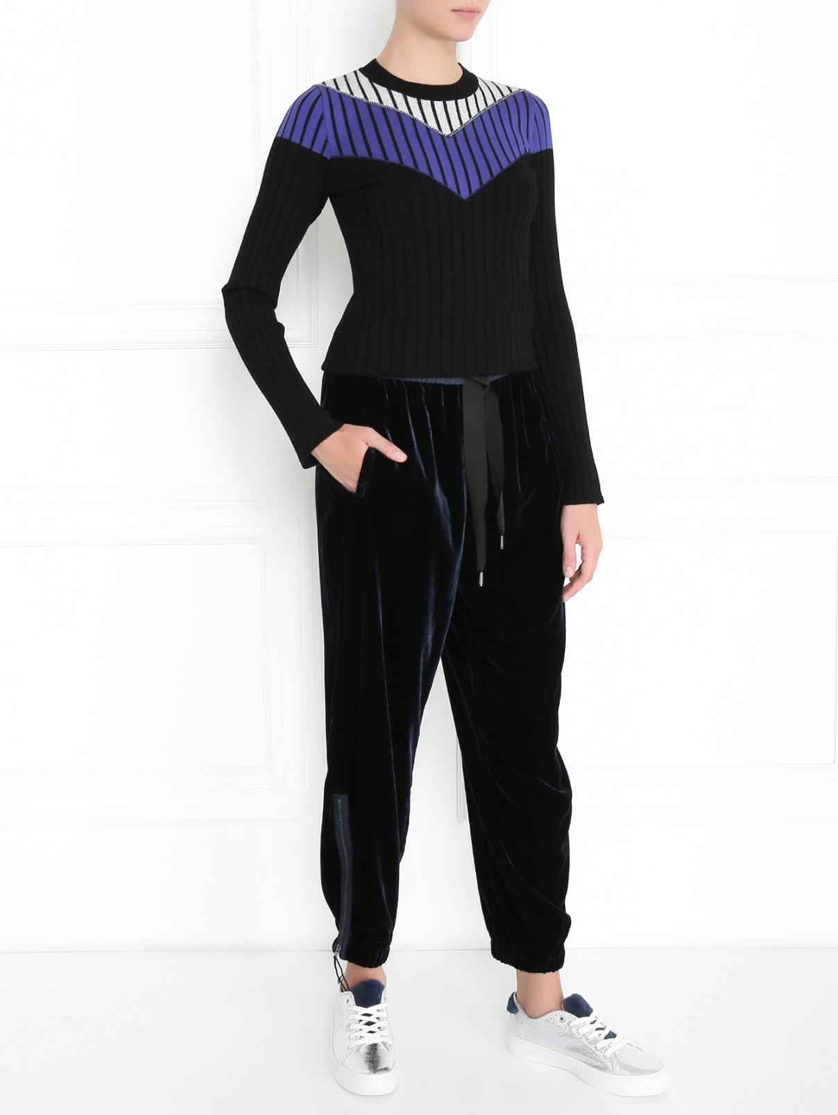 Джемпер фактурной вязки с длинным рукавом Sportmax Code  –  Модель Общий вид