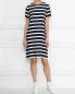 Платье из ткани в полоску Max Mara  –  МодельОбщийВид