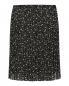 Плиссированная юбка-мини с узором See by Chloé  –  Общий вид