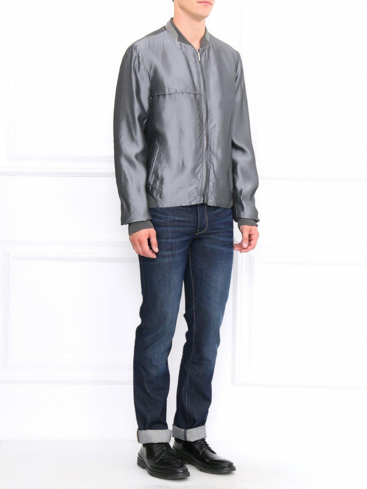 Легкая куртка на молнии Costume National  –  Модель Общий вид