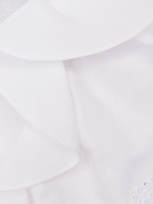 Платье-миди из хлопка с короткими рукавами - Деталь