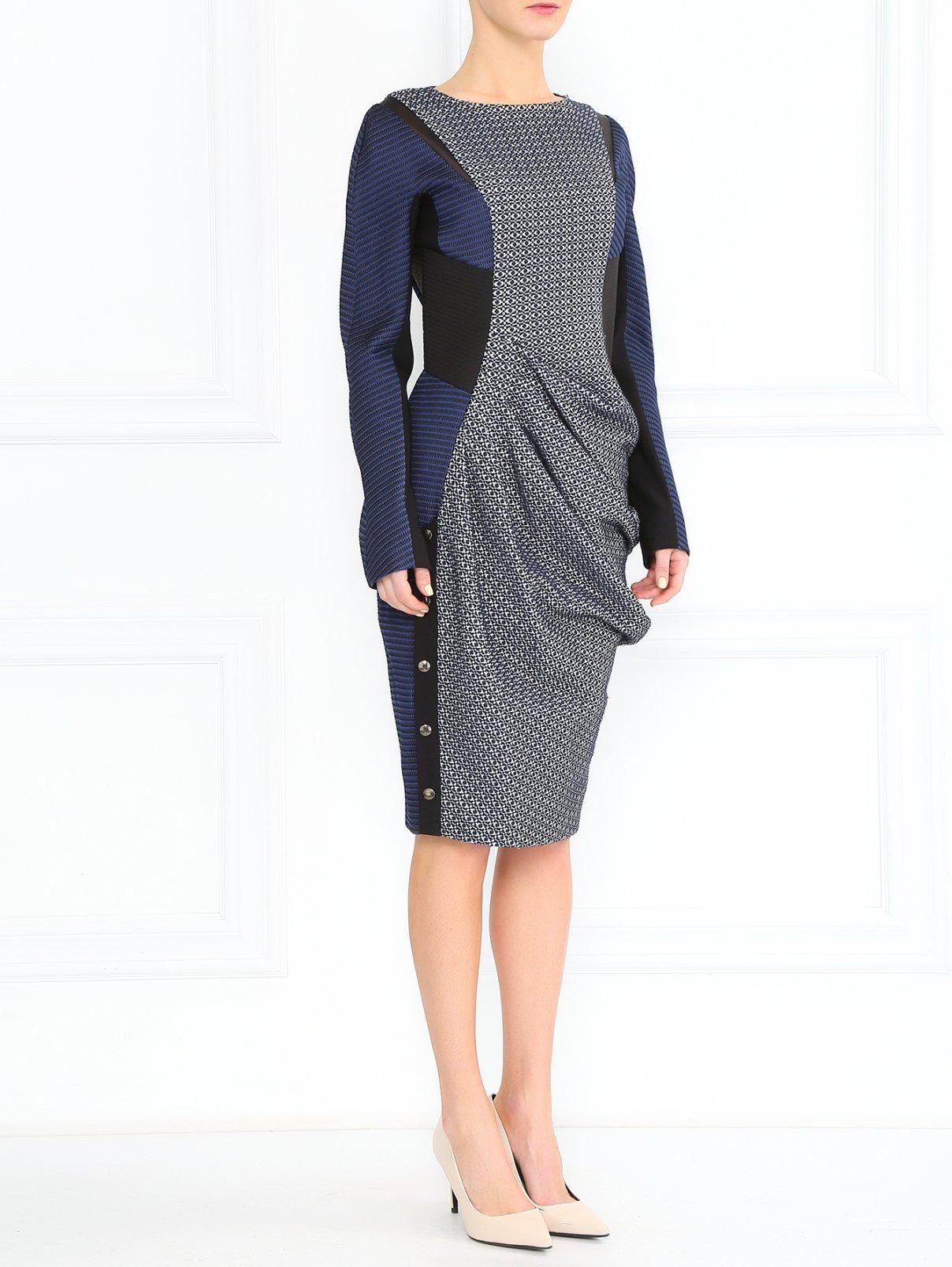 Платье асимметричного кроя Sportmax  –  Модель Общий вид