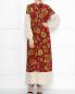 Платье-макси из шелка с узором Weekend Max Mara  –  МодельОбщийВид