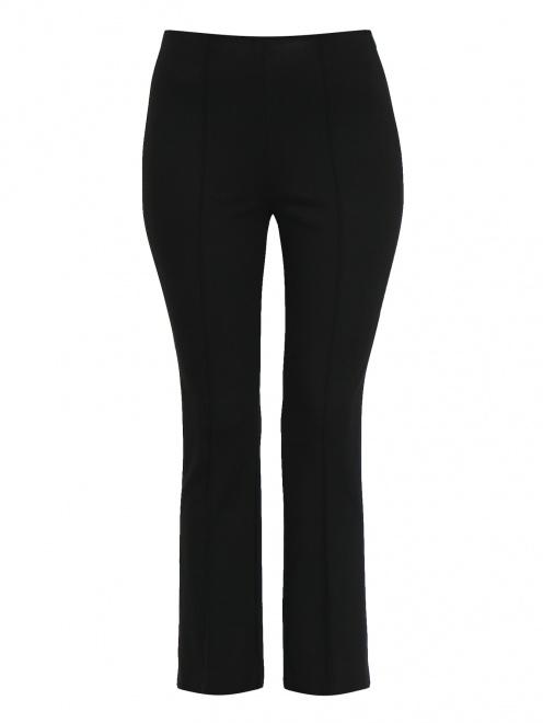 Укороченные брюки из плотного трикотажа - Общий вид