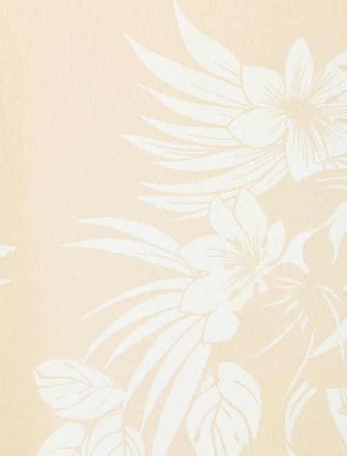 Платье хлопковое с цветочным узором - Деталь1