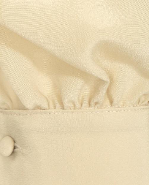 Блуза из шелка с жабо - Деталь1