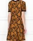 Платье из трикотажа с узором Michael by Michael Kors  –  МодельВерхНиз1