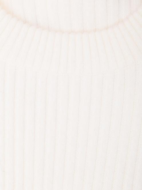 Платье из шерсти и кашемира с поясом  - Деталь