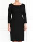 Шерстяное платье-футляр с болеро Alberta Ferretti  –  Модель Верх-Низ