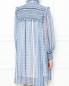 Платье из шелка с узором Philosophy Di Lorenzo Serafini  –  МодельВерхНиз1