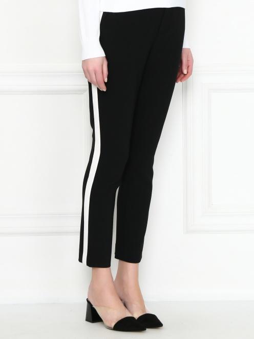 Укороченные брюки с карманами - МодельВерхНиз