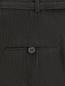 Широкие брюки из шерсти и хлопка с узором Antonio Marras  –  Деталь1