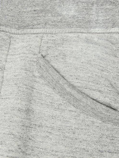 Брюки трикотажные с декоративной шнуровкой  - Деталь1